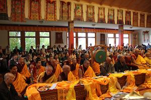 Visit of H H  Trijang Choktul Dorje Chang